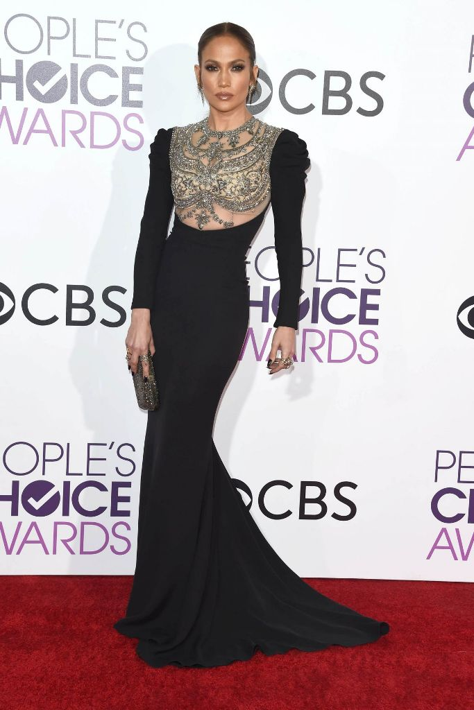 Jennifer Lopez wins Favorite Actress in TV Crime Drama at People's Choice Awards 2017.