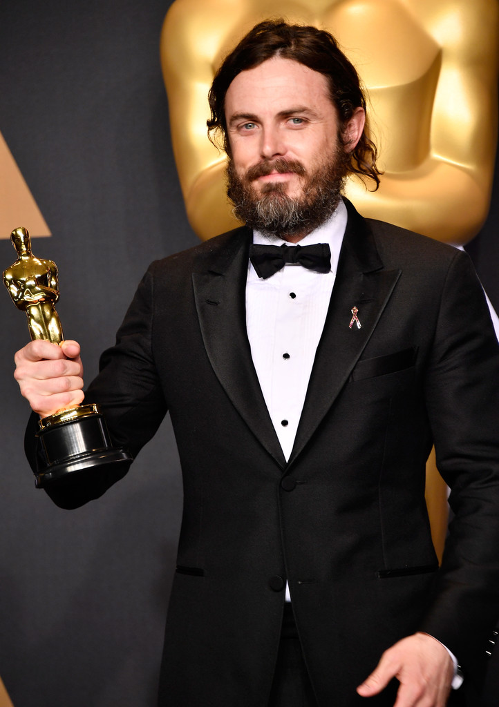 Casey Affleck, winner of Best Actor for 'Manchester by the Sea' poses in the press room during the 89th Annual Academy Awards at Hollywood & Highland Center on February 26, 2017 in Hollywood, California.