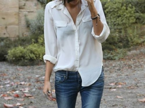 Style Watch: Best spring style outfit ideas with white shirt