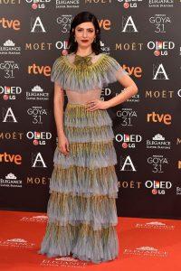 Bárbara Lennie In Gucci – 2017 Goya Awards