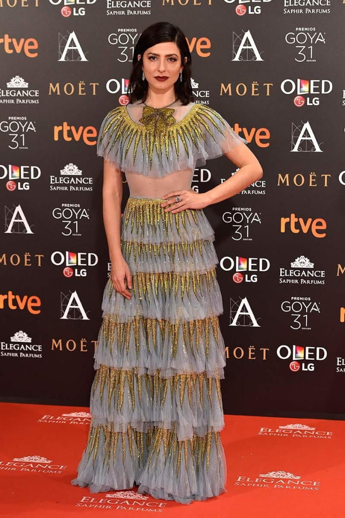 Bárbara Lennie In Gucci – 2017 Goya Awards