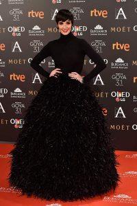 Paz Vega In Jorge Acuña – 2017 Goya Awards