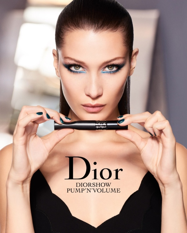 Bella Hadid just dropped her first official Christian Dior Cosmetics campaign