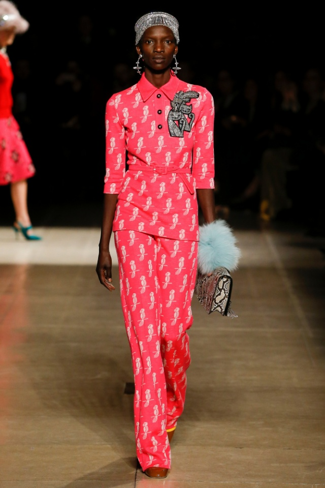 Miu Miu fall/winter 2017 collection - Paris fashion week
