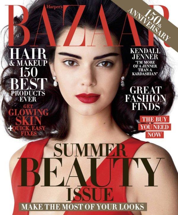 US Harper's Bazaar May 2017 Kendall Jenner by Camilla Akrans