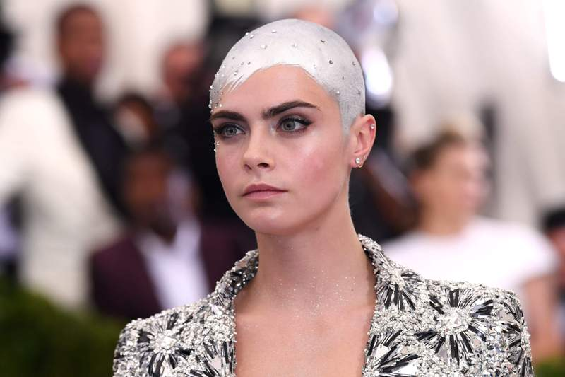 Image result for cara delevingne 2017