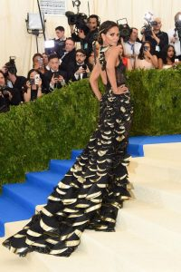 Halle Berry at 2017 MET Gala Photos.