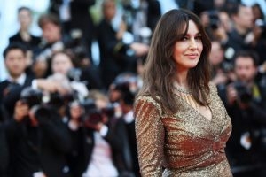 Italian actress Monica Bellucci was also attending the 70th Anniversary of the 70th annual Cannes Film Festival at Palais des Festivals on May 23, 2017 in Cannes, France. The 52-year-old who is this year`s Mistress of Ceremonies in Cannes, was dressed in Chanel gold sequin gown from their latest Pre-Fall 2017 collection.