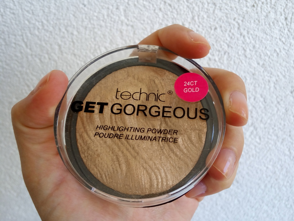 24ct Gold Highlighter Powder