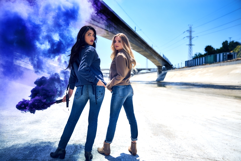 Stepping into fall with STS Blue denim line2