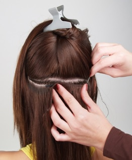 human hair half wigs