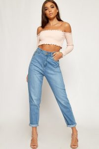 Zoey High Waisted Denim Mom Jeans