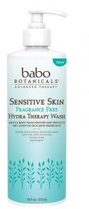 Sensitive Skin Fragrance Free Hydra Therapy Face & Body Wash - Adult Care