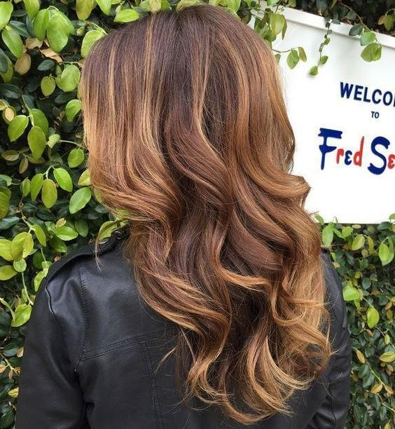 Caramel Brown with Highlights