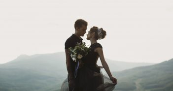 black-wedding-dress-for-edgy-bride