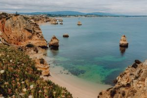 Camilo beach (Praia do Camilo) in Lagos, Algarve, Portugal