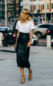 white-t-shirt-and-pencil-skirt