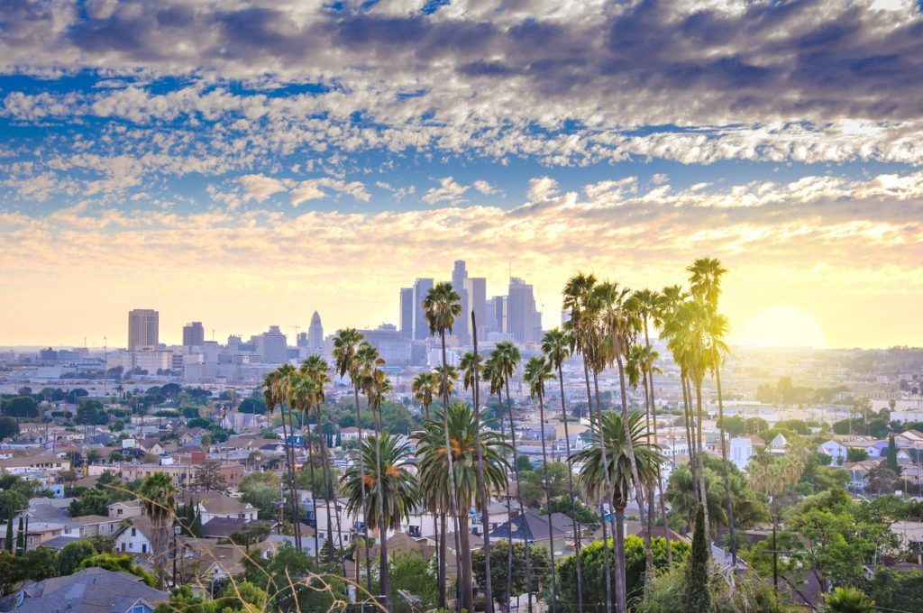 Los-Angeles-downtown-panorama